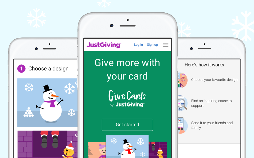 GiveCards by JustGiving